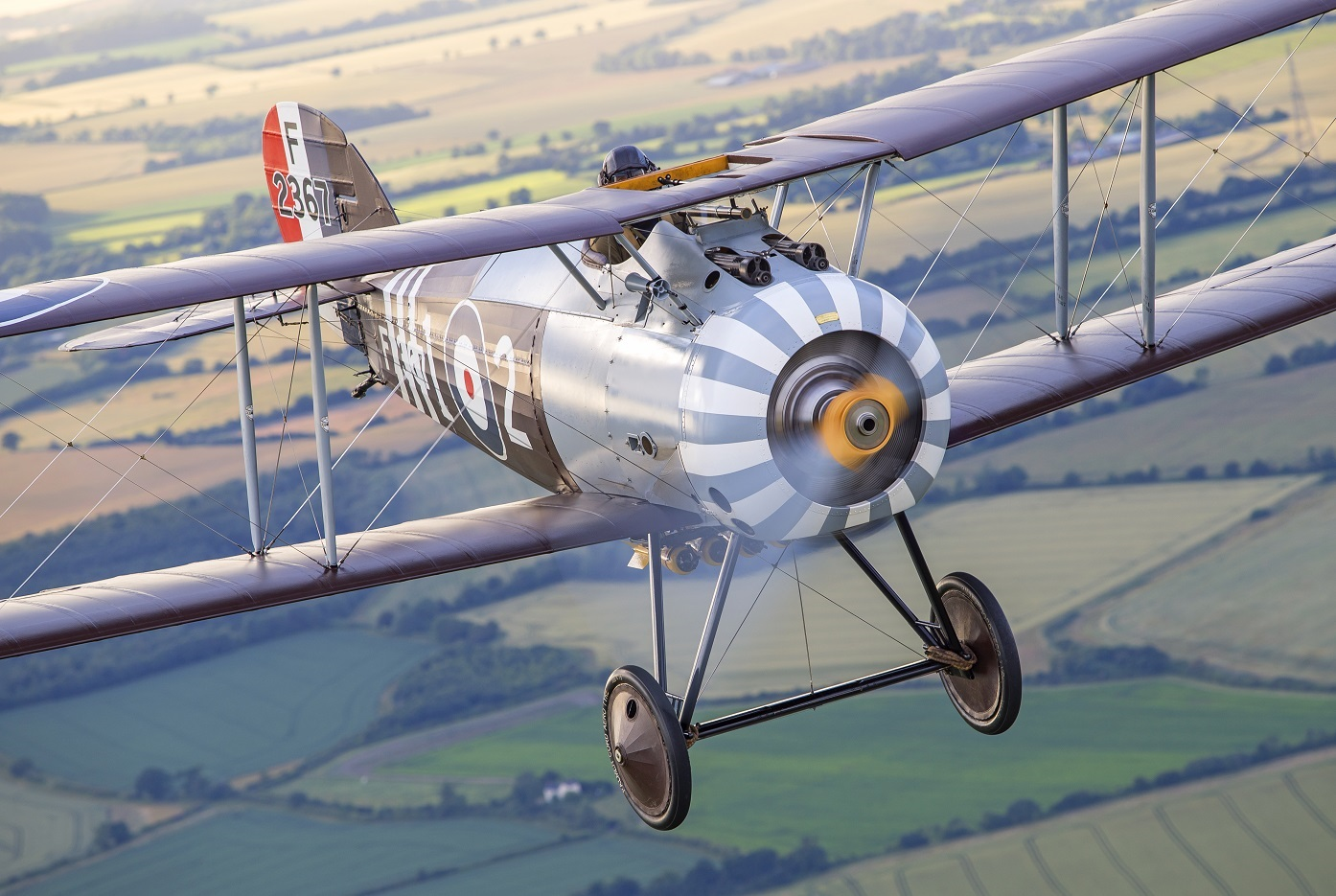 Sopwith Snipe in Formation