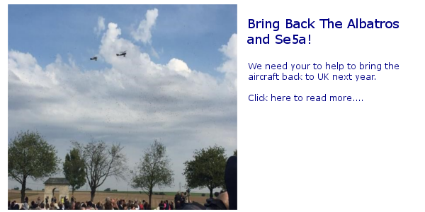 Bring Back to Albatros and Se5A
